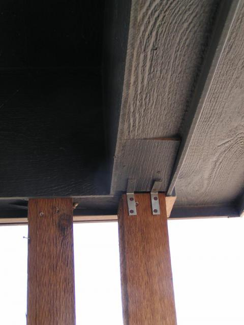 Porch settling at a Fort Collins Co. home, columns pulling loose ...