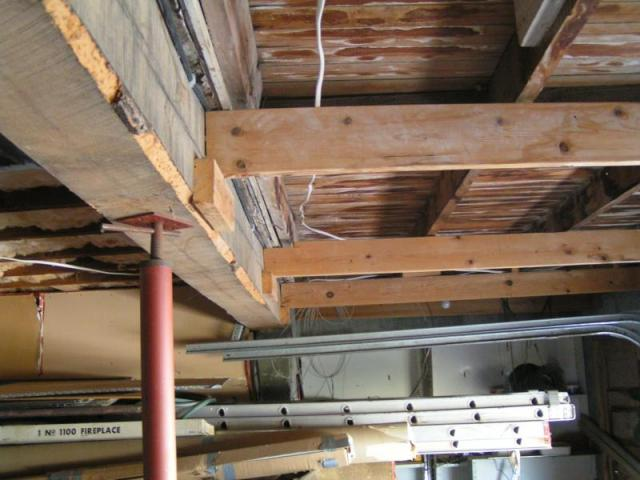 Improper framing at this Cheyenne Wy. home | Aaron\'s Home Inspections