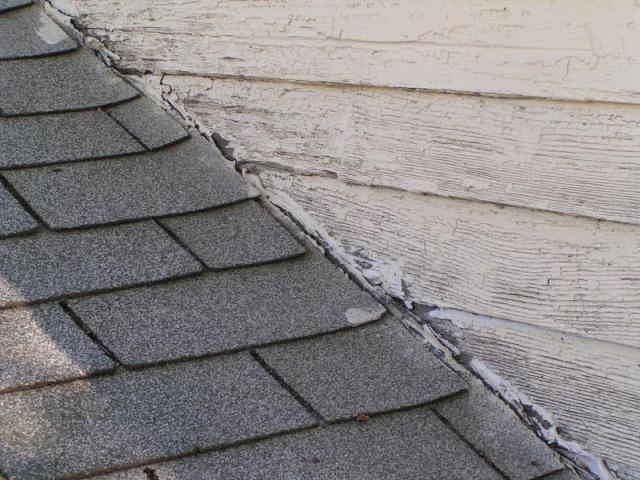 No Flashing At Wall To Roof Connection At A Loveland Co. Home